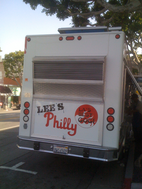 Lee's Philly Food Truck in Larchmont