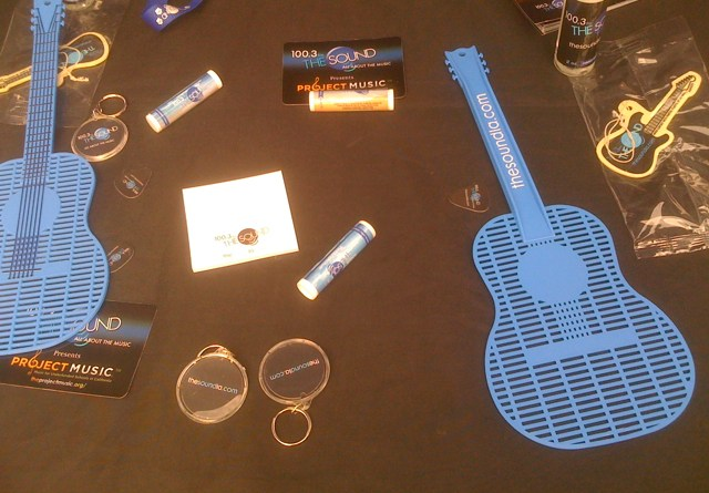 Lip Balm and Fly Swatter at The Sound LA Table