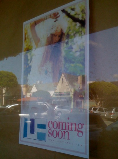 LF Stores New Location in Larchmont Village
