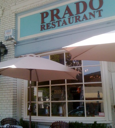 Prado Restaurant in Larchmont Village
