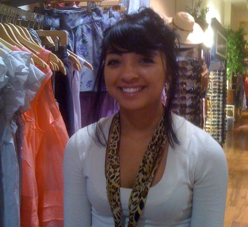 Demi Sandoval, Manager of Heavenly Couture on Larchmont