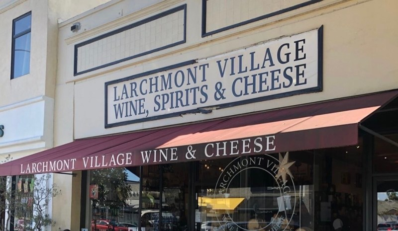 Larchmont Wine and Cheese shop