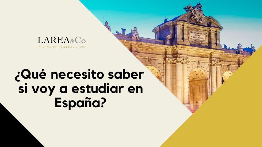 Qué necesito saber si voy a estudiar en España