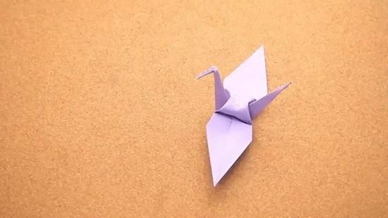 Как сделать журавлика оригами из бумаги своими руками origami zhuravlik iz bumagi 19