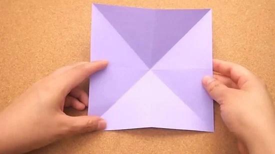 Как сделать журавлика оригами из бумаги своими руками origami zhuravlik iz bumagi 5