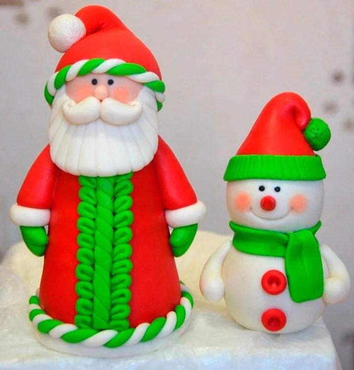 Lepim Santa Claus Жаңа жылға арналған балалар Дед Мороз ИЗ Пластилина 4