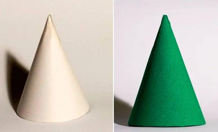 Aaltopahvista tehdyt joulun käsityöt: talon sisustaminen omin käsin podelki iz gofrirovannoj bumagi na novyj god 2