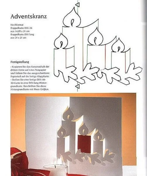 Mga postkard para sa Bagong Taon gamit ang iyong sariling mga kamay: simple at orihinal na crafts sa kindergarten at paaralan Novogodnyaya otkrytka svoimi rukami 106