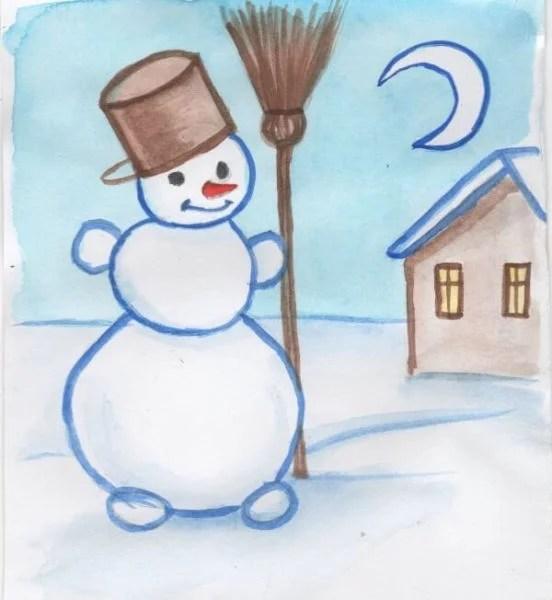 Рисунки на новогоднюю тематику: что можно нарисовать на Новый год risunki na novogodnyuyu temu 110