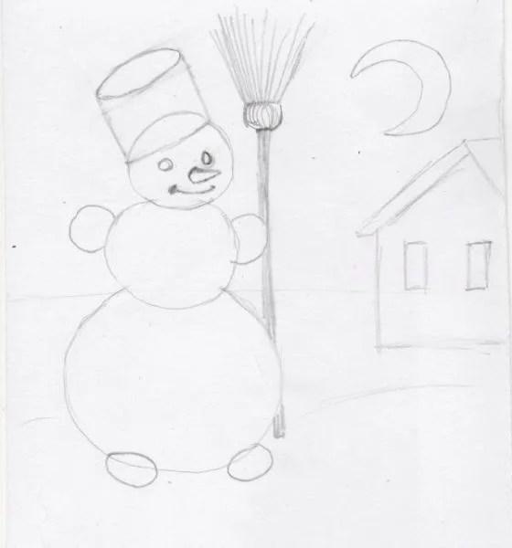 Рисунки на новогоднюю тематику: что можно нарисовать на Новый год risunki na novogodnyuyu temu 116
