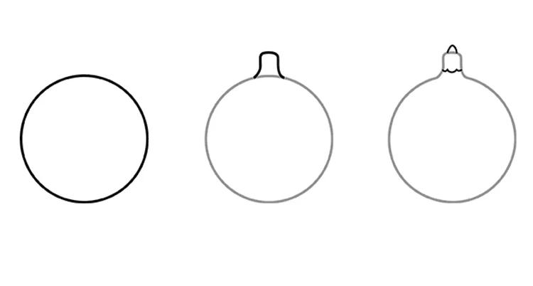 크리스마스 주제를위한 그림 : 새해를 위해 무엇을 그릴 수 있습니까? Risunki Novodnyuyu Temu 25