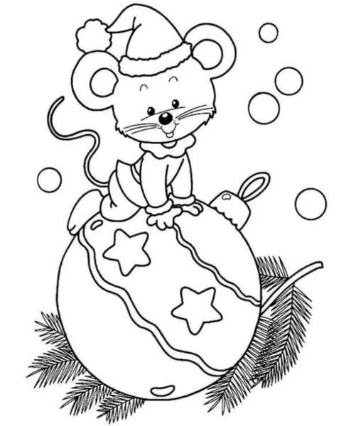 Рисунки на новогоднюю тематику: что можно нарисовать на Новый год risunki na novogodnyuyu temu 33