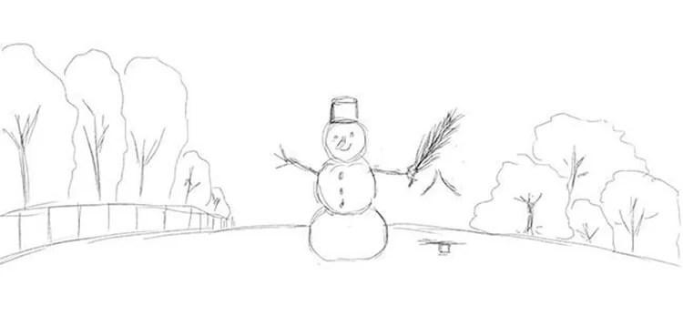 Рисунки на новогоднюю тематику: что можно нарисовать на Новый год risunki na novogodnyuyu temu 38