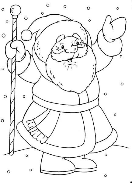 크리스마스 주제용 도면 : 새해에 그릴 수있는 일은 무엇인가 Risunki Novodnyuyu Temu 46