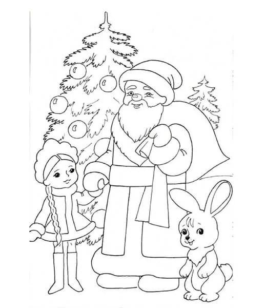 Dessins pour sujets de Noël: Que peut-on tirer sur la nouvelle année Risunki Na Novogodnyuyu Temu 51