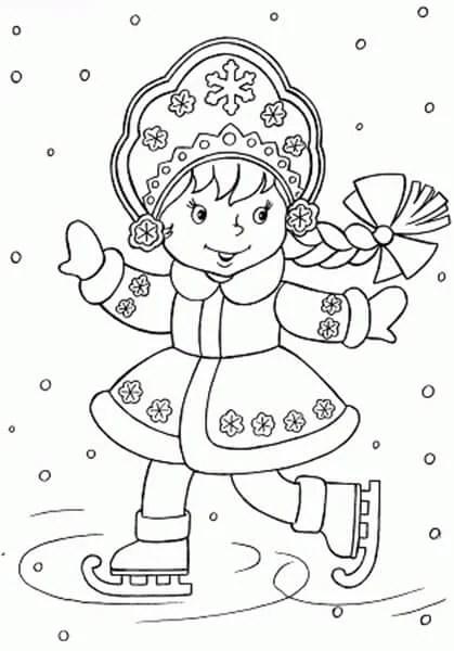 크리스마스 주제용 도면 : 새해에 그릴 수있는 일자리 risunki novodnodnyuyu temu 53