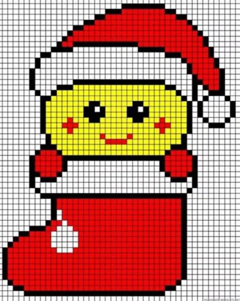 크리스마스 주제용 도면 : 새해에 그려 질 수있는 것은 무엇인가 Risunki Novodnyuyu Temu 76