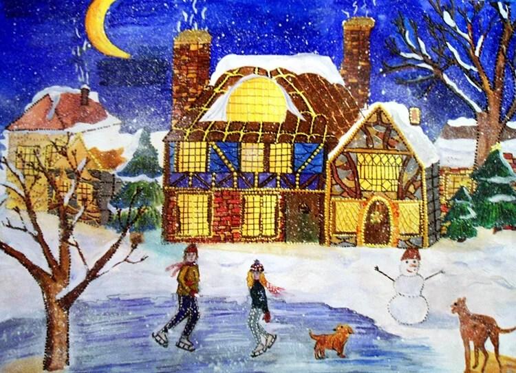 Рисунки на новогоднюю тематику: что можно нарисовать на Новый год risunki na novogodnyuyu temu 82