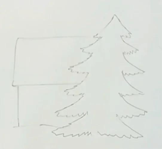 크리스마스 주제용 도면 : 새해를 위해 무엇을 그릴 수 있습니까? Risunki Novodnyuyu Temu 85