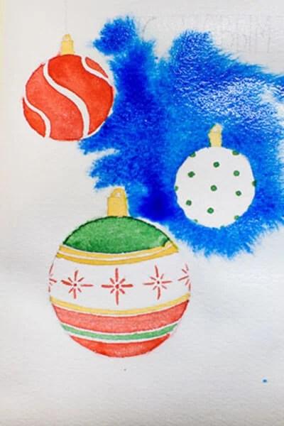 크리스마스 주제용 도면 : 새해에 그려지는 것은 risunki novodnyuyu temu 99