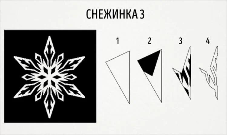 Жаңа жылға арналған әдемі түпнұсқа снежинкалар: өз қолдарыңызды, шаблондарыңызды жасаңыз, Snezhinki iz bumagi svoimi rukami 11