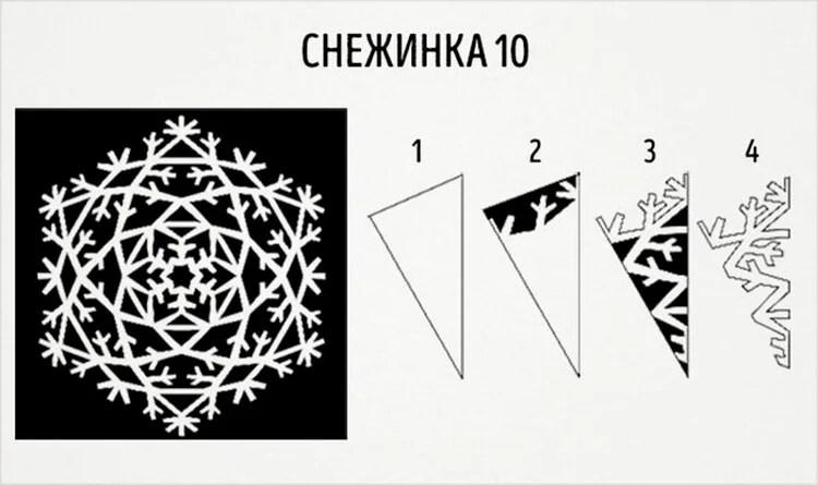 Жаңа жылға арналған әдемі түпнұсқа снежинкалар: өз қолдарыңызды, үлгілеріңізді жасаңыз, snezhinki iz bumagi svoimi rukami 18