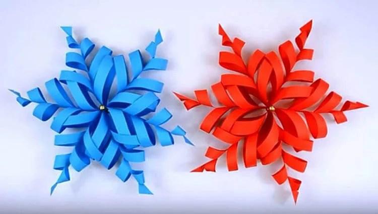 新年美丽的原始雪花:创建自己的手,模板与照片Snezhinki Iz Bumagi Svoimi Rukami 44 2
