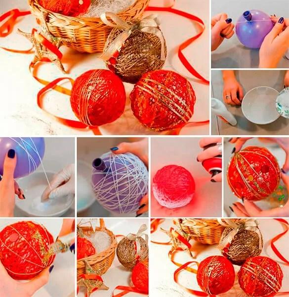 Julgranleksaker på julgran med egna händer: Vad kan göras för det nya året Elochnaya igrushka svoimi rukami 2
