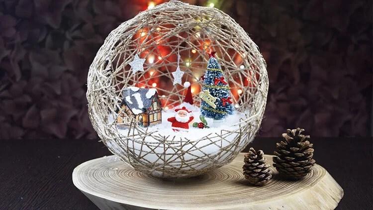 Joulukuusi lelut joulukuusi omalla kädellään: mitä voidaan tehdä uudenvuoden Elochnaya Igrushka Svoimi Rukami 5