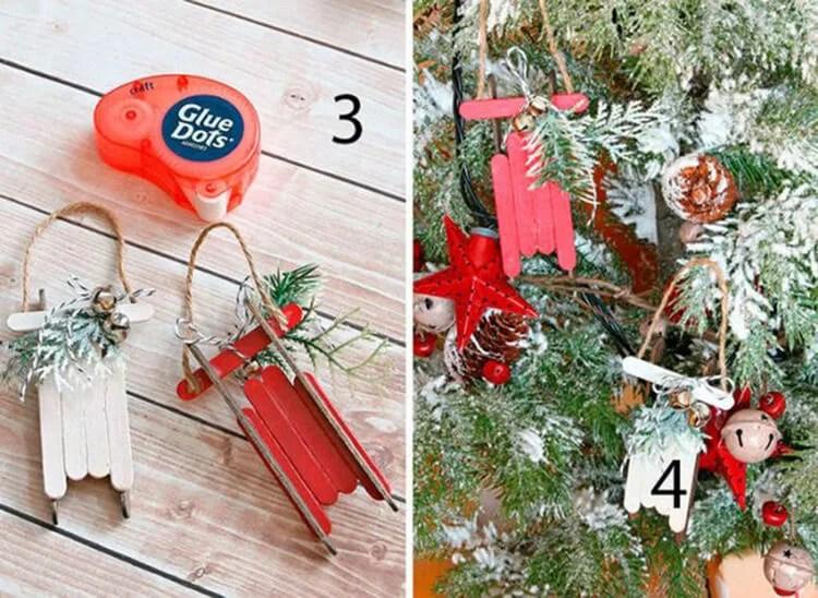 Рождество ағашындағы шырша ойыншықтары өз қолымен: Жаңа жыл үшін не істеуге болады?