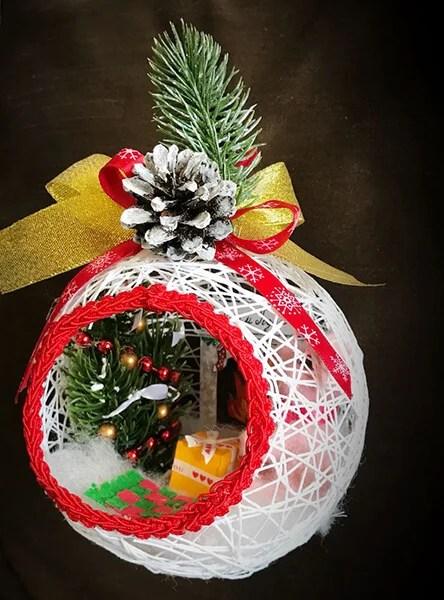 Рождестволық шыршадағы шырша ойыншықтары өз қолдарымен: Жаңа жыл үшін не істеуге болады?