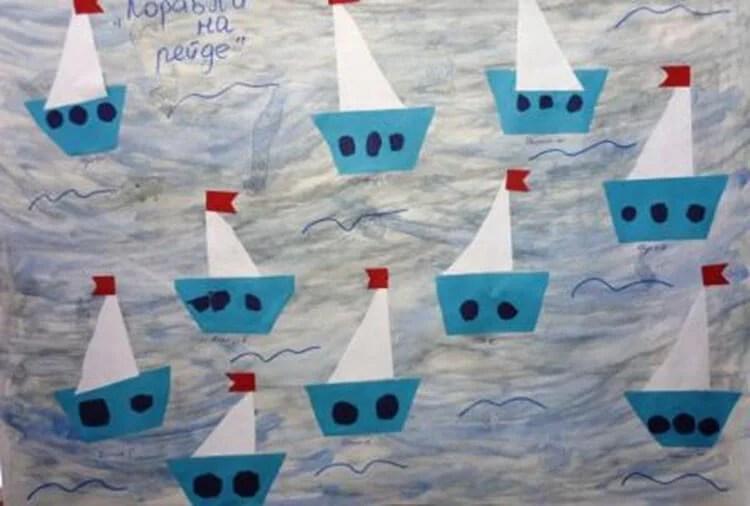 船舶为儿童:使用方案创建的各种方式和描述Korabl Svoimi Rukami 51
