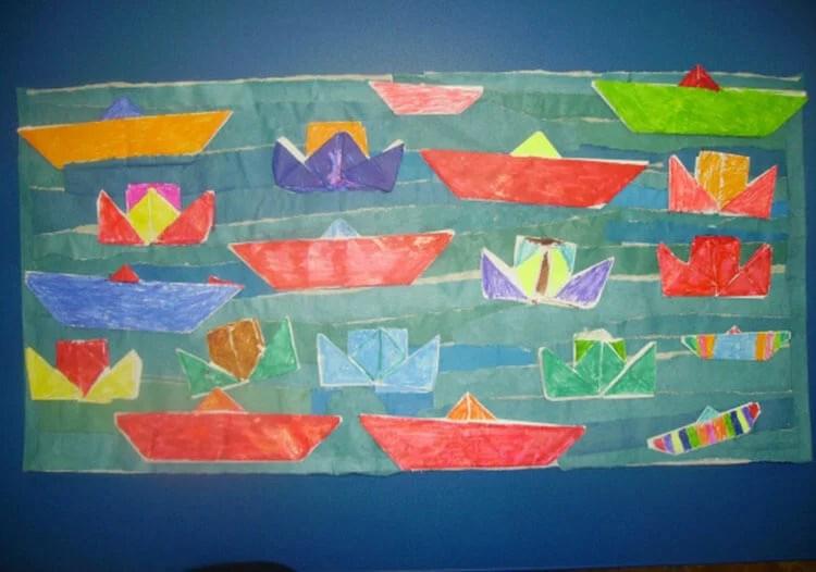 Кораблик для детей: различные способы создания со схемами и описанием korabl svoimi rukami 52
