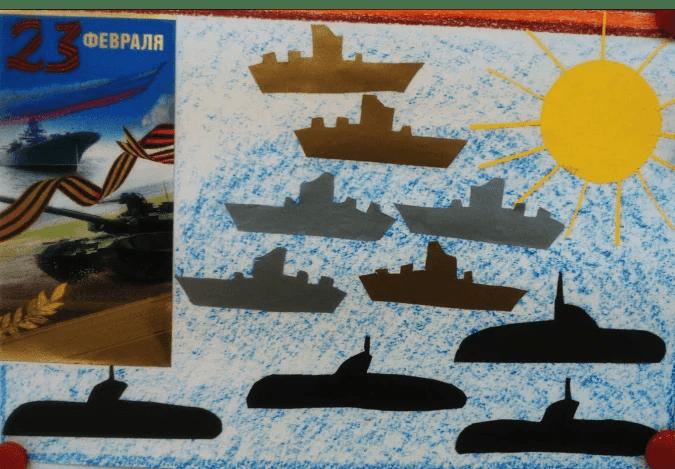 船舶为儿童:使用方案创建的各种方式和描述Korabl Svoimi Rukami 53