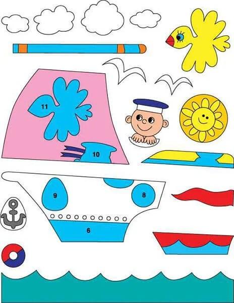 Кораблик для детей: различные способы создания со схемами и описанием korabl svoimi rukami 57