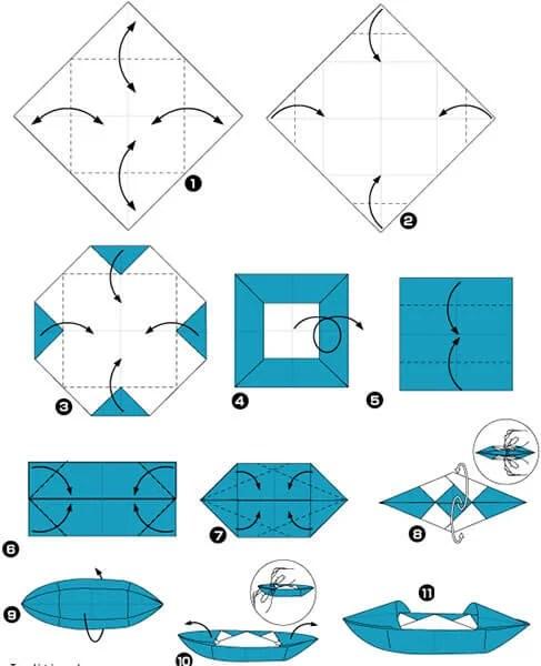 船舶为儿童:用方案创建的各种方式和描述Korabl Svoimi Rukami 81