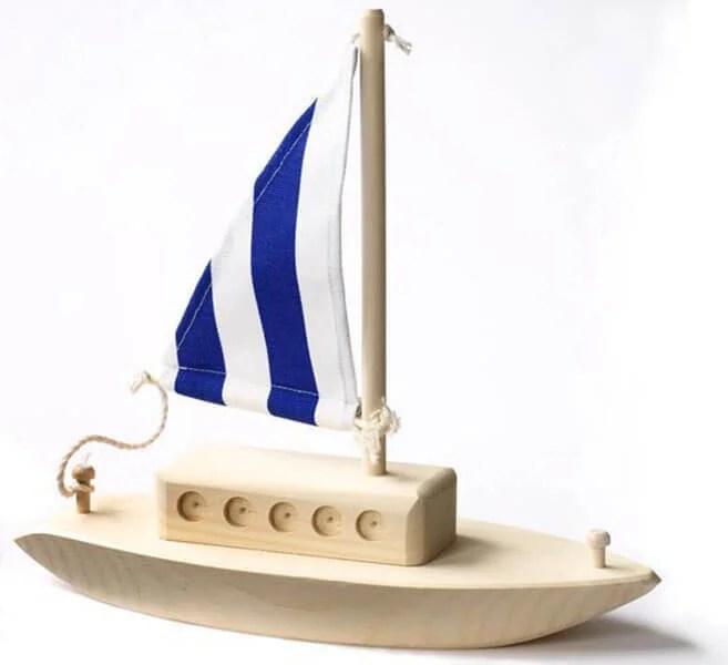 儿童船:使用方案创建的各种方式和描述Korabl Svoimi Rukami 93