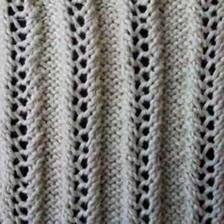 Как вязать ажурные узоры: варианты вязания со схемами и описанием azhurnye uzory spicami 148