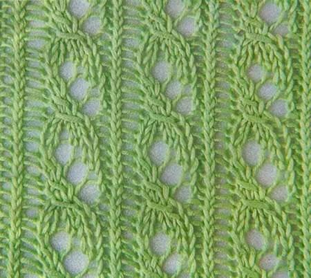 Как вязать ажурные узоры: варианты вязания со схемами и описанием azhurnye uzory spicami 6