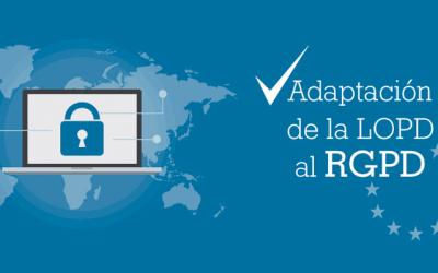 Adaptación a la nueva RGPD Europea
