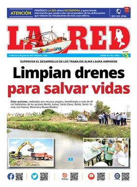 Limpian drenes para salvar vidas
