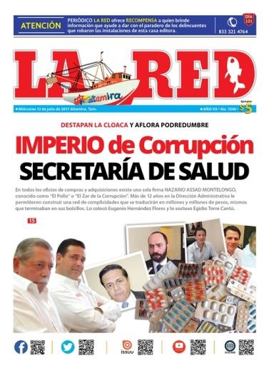 IMPERIO de corrupción SECRETARÍA DE SALUD