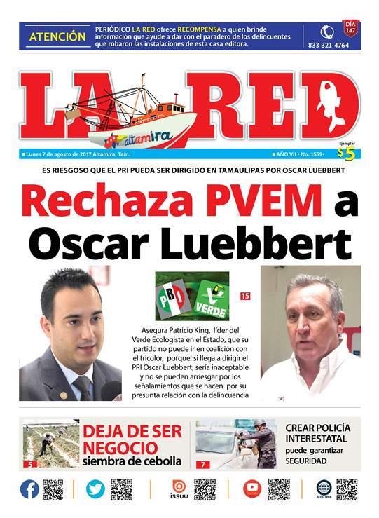 Rechaza PVEM a Oscar Luebbert