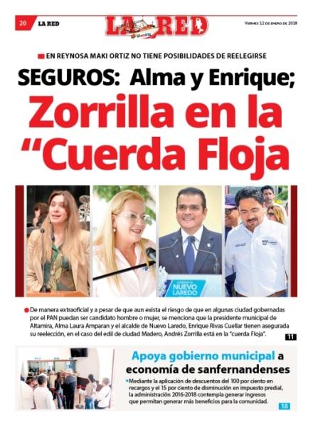 """SEGUROS: Alma y Enrique;  Zorrilla en la """"Cuerda Floja"""
