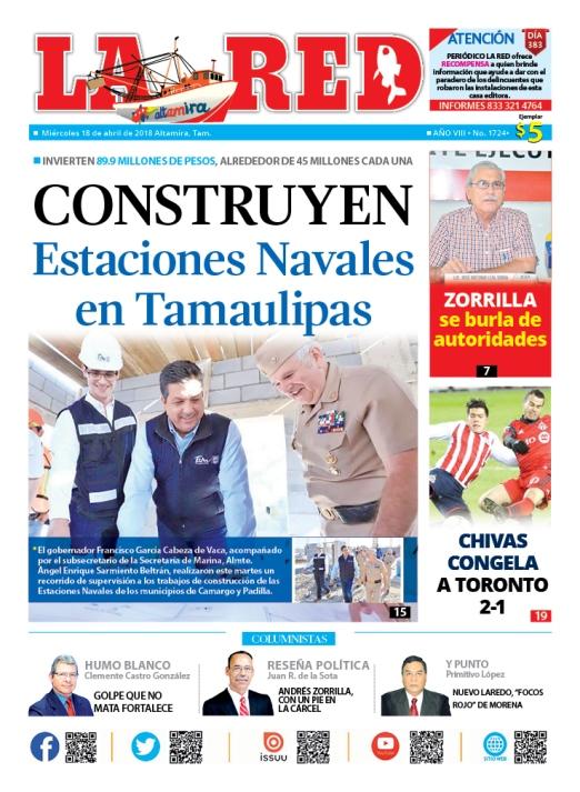 Construyen Estaciones Navales en Tamaulipas