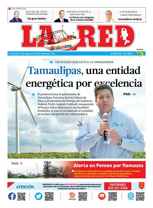 Tamaulipas, una entidad energética por excelencia