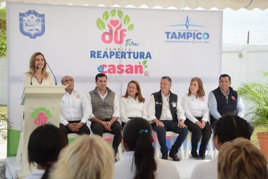 Reapertura DIF Tampico Centro de Asistencia Social para Niñas