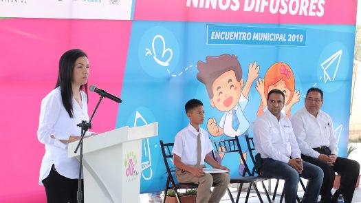 """Realizan Gobierno de Altamira y Sistema DIF """"Encuentro Municipal de Niños Difusores"""""""