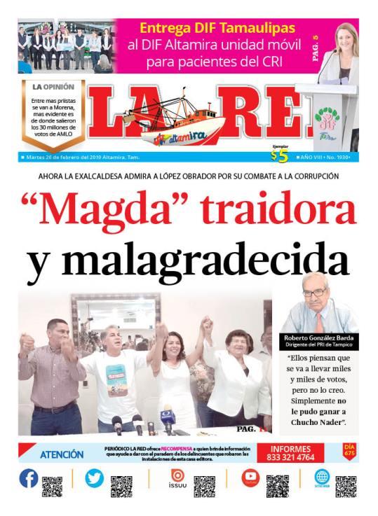 """Magda"" traidora y malagradecida"
