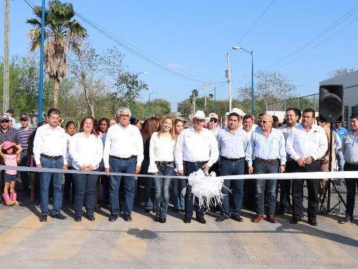 Inaugura alcalde José Ríos Obra en Ampliación Loma Alta